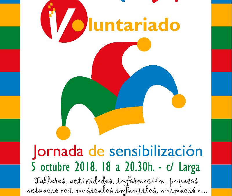 'Crea Voluntariado' Jornada de Sensibilización