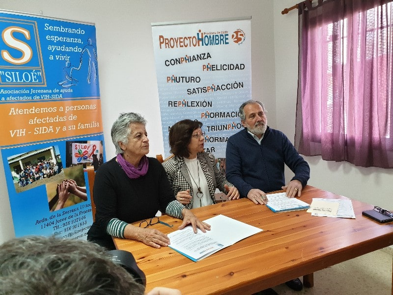 Acuerdo entre Siloé y Proyecto Hombre provincia de Cádiz