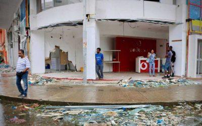'MOZAMBIQUE BEIRA, CUARTA CIUDAD DE MOZAMBIQUE, DERRUIDA EN UN 90% POR EL CICLON IDAI '